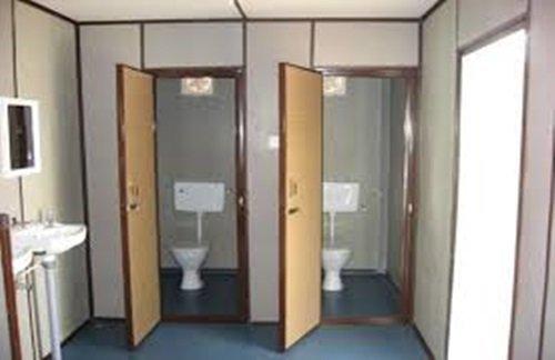Customized portable toilets