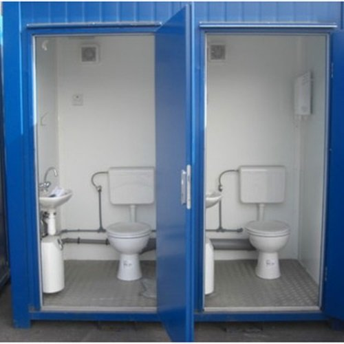 Portable Toilet Exhibition : Portable mobile toilet in bangalore saman