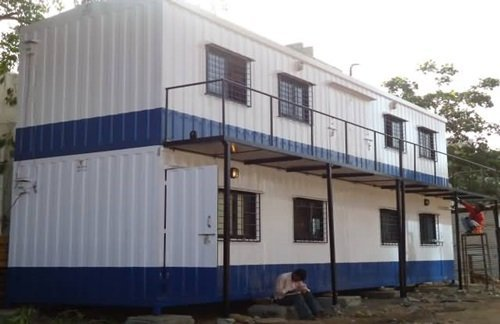 Office in container Design Container Site Office Allied Trailers Container Site Office In India Saman Portable Office Solutions