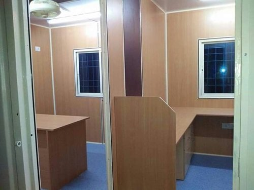 best container office interior