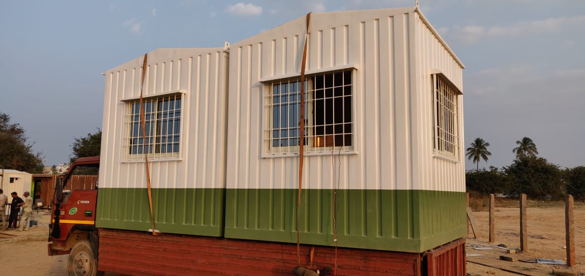Portable Office Cabin Manufacturer | SAMAN Porta Office Cabin Solutions